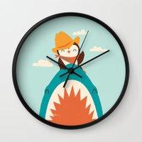 Yeehaw! Wall Clock