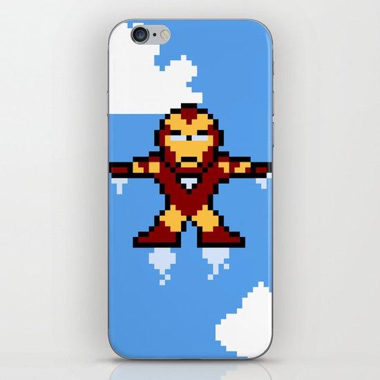 Iron Pixel iPhone & iPod Skin