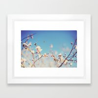 The Bee. Framed Art Print