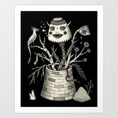 Savage Bouquet Art Print