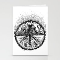 WILD PEACE Stationery Cards