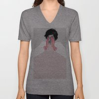 A Touch Of Pink 02 Unisex V-Neck
