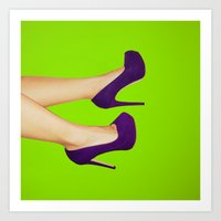 them shoes Art Print