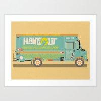 Hangout Music Fest 2014 … Art Print