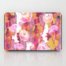 Painterly Flowers iPad Case