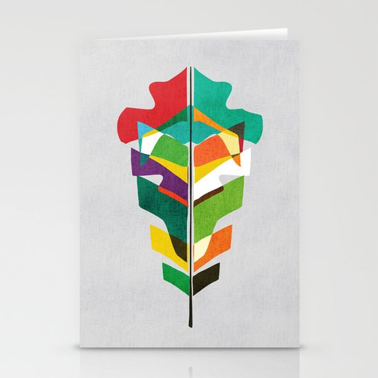 Before the last leaf falls Stationery Card