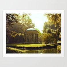 Temple of Love Art Print