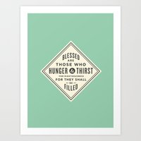 Hunger & Thirst Art Print