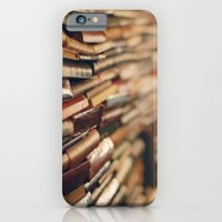 iPhone & iPod Case featuring library by Kristina Strasunske