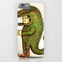 iPhone & iPod Case featuring El coco by Juan Weiss