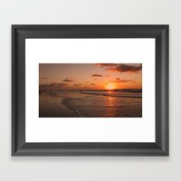 Wildwood Beach Sunrise I… Framed Art Print