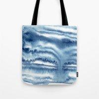indigo shibori 09 Tote Bag