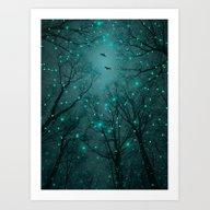 Silently, One By One, Th… Art Print