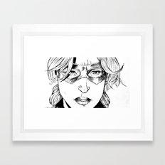 STATURE (CASSANDRA LANG) - AVENGER  Framed Art Print