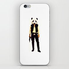 Pan Solo iPhone & iPod Skin