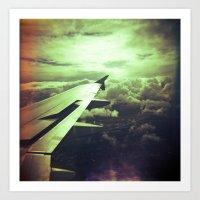 Lomographic Flight 1 Art Print