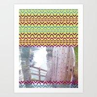 AZTEC 'Door Into Summer'_1-2 Art Print