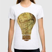 I ♥ France Womens Fitted Tee Ash Grey SMALL