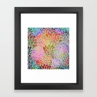 Floral Abstract 6 Framed Art Print