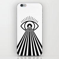 Laser Eye iPhone & iPod Skin