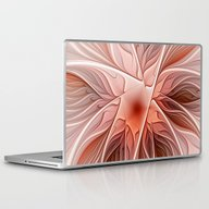 Laptop & iPad Skin featuring Flower Decoration by Gabiw Art