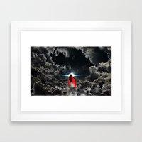 Ad Lucem (Towards The Li… Framed Art Print