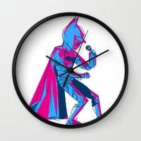 The Dark Knight Rocks Wall Clock