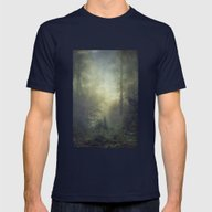 Secret Domaim Mens Fitted Tee Navy SMALL