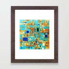 Lucky Ascension (inverted) Framed Art Print