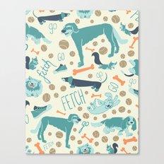 Park Dogs Canvas Print