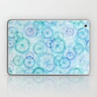 Spirograph Pattern Laptop & iPad Skin
