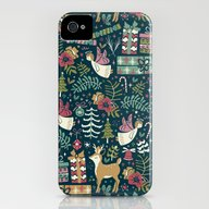 Christmas Joy iPhone (4, 4s) Slim Case