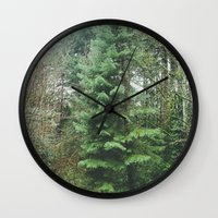 With the Trees Wall Clock
