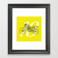 To Hell With Luck Framed Art Print