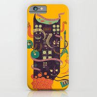 iPhone Cases featuring Power Trio by Hector Mansilla