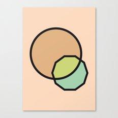 Shapes Illustration Canvas Print