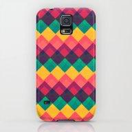 Happy Day Pattern Galaxy S5 Slim Case
