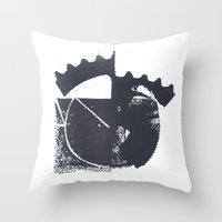 Industrial Throw Pillow