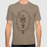 Bee Bear Mens Fitted Tee Tri-Coffee SMALL