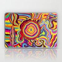 The Dancing Colors Laptop & iPad Skin