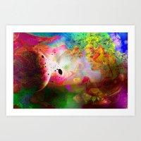Abstract Art 2014-12-09 Art Print
