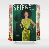 1951 Spring/Summer Catalog Cover Shower Curtain