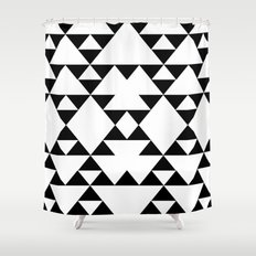 Tri-Tribe I Shower Curtain