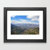 Peru Framed Art Print