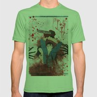 Evil Mens Fitted Tee Grass SMALL