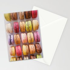 French Macarons  Stationery Cards