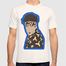 Derek Zoolander Mens Fitted Tee Natural SMALL
