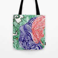Brain Smog Tote Bag