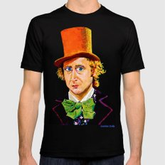 Wonka SMALL Black Mens Fitted Tee