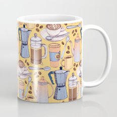 Coffee Love on Yellow Mug